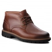 Обувки CLARKS - Batcombe Lo 261274737 Dark Tan Leather