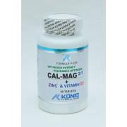 Potenta Optima Calciu + Magneziu + Zinc + Vitamina D - pentru mentinerea sanatatii oaselor si dintilor