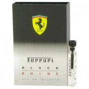 Ferrari Black Shine Vial (Sample) 0.06 oz / 2 mL Fragrances 491722
