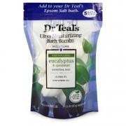 Dr Teal's Ultra Moisture Bath Bomb Eucalyptus Spearmint Jojoba Sunflower Oil 5x 1.6oz/47.32mL Men's Fragrances 550633