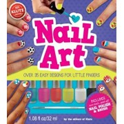 Nail Art: Over 35 Easy Designs for Little Fingers 'With Non-Toxic Peel-Off Nail Polish and Brush', Paperback/Klutz Press