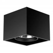 Flos Compass Box - Square Ceiling Lamp, Black