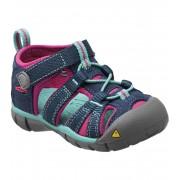 KEEN Seacamp II CNX INF Dětské sandály KEN1201065411 poseidon/very berry 3(19)