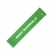 Body Science Short Power Resistance Band Green, Heavy
