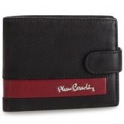 Голям мъжки портфейл PIERRE CARDIN - TILAK26 323A Black/Red