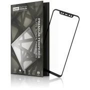 Tempered Glass Protector Xiaomi Mi 8 készülékhez, keretes - fekete