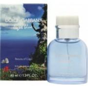 Dolce & Gabbana Light Blue Pour Homme Beauty of Capri Eau de Toilette 40ml Spray