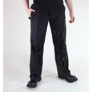 MIL-TEC férfi nadrág - Fliegerhose - Prewash Black - 11502002