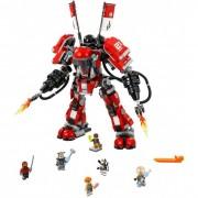 Lego Конструктор Lego Ninjago 70615 Лего Ниндзяго Огненный робот Кая