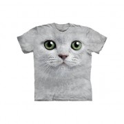 The Mountain All-over print kids t-shirt met witte kat