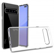 Capa de TPU Imak UX-5 para Samsung Galaxy S10 5G - Transparente