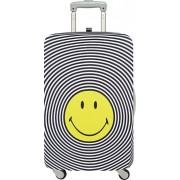 Pokrowiec na walizkę LOQI Smiley