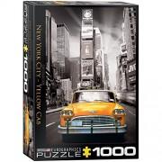 Euro Graphics New York City Yellow Cab Puzzle (1000 Piece)