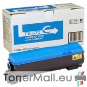 Тонер касета Kyocera TK-570C (Cyan)
