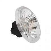 Elight Żarówka LED AR111 GU10/12W/230V 4000K srebrna/czarna z odbłyśnikiem