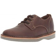 Florsheim Kids Boys' Navigator Dress Casual Plain Toe Oxford Jr, Brown CH, 2 M US Little
