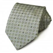 Серый галстук с дизайном кружочки Celine 825895