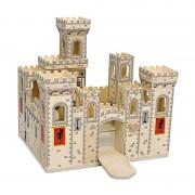 Castel medieval pliabil Melissa & Doug, 3 ani+