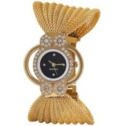 TRUE CHOICE NEW BRAND SUPER FAST SELLING GOLD ZULLA DAIMOND ANALOG WATCH FOR GIRLS WOMEN.