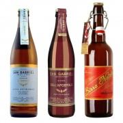 Birra San Gabriel 3 bottiglie miste: Bionda - Dell'Apostolo - Birra di Natale