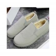 Botas de algodón de moda-fashion-cool-Hombre-gris