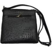 CUT THE CHASE Fashionable Black Messenger bag for women Black Sling Bag