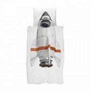 Snurk dekbedovertrek Rocket-1-persoons 140 x 220 cm incl. kussensloop 60 x 70 cm