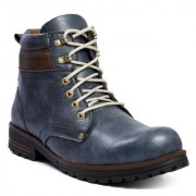 Men's Blue Stylish outdoor Boot