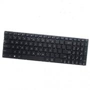 FQ Teclado del Ordenador portátil para For ASUS X750 X750JA X750JB X750JN X750LA X750LB X750LN Color Negro Versión en inglés de EE. UU.