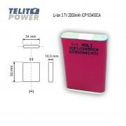 Li-Ion ICP103450CA 3.7V 2000mAh MOLI