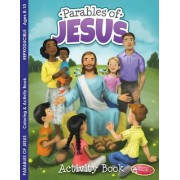 Coloring & Activity Book - Parables of Jesus (8-10): 6-Pack Coloring & Activity Books