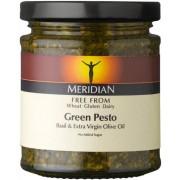 Pesto verde cu busuioc si ulei masline extravirgin, 170g, Meridian Foods