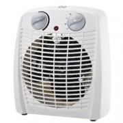 Вентилаторна печка Sapir SP 1970 X, 3 степени на мощност, oтопление/oхлаждане, 2000W, бяла