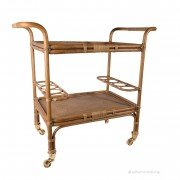 Sika-Design Drinkvagn carlo trolley antikbrun, sika-design