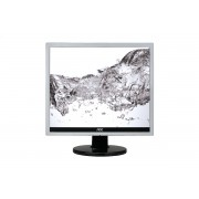 "AOC e719Sda 17"" SXGA Flat Black, Silver computer monitor"