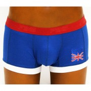 Frederiqua de Silk Rule Britannia Boxer Brief Underwear