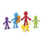 Set educativ pentru dezvoltarea gandirii pentru copii Learning Resources - Familia mea Omuleti