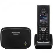 Безжичен VoIP телефон Panasonic KX-TGP600, Черен, 1544008