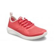 Crocs LiteRide™ Pacer Schoenen Kinder Poppy / White 30