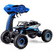 FunBlast® RC Rock Crawler Monster Truck, Dirt Drift Waterproof Four Wheel Drive, 2.4 Ghz (Random Color Dispatch)