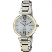Seiko Analog White Round Women's Watch-SUT154P1