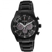 Citizen Black Stainless Steel Round Dial Quartz Watch For Men (CA4035-57E)