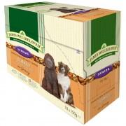 10х150г Senior James Wellbeloved, консервирана храна за кучета - пуешко и ориз в паучове