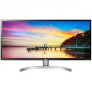 Monitor LED LG 34WK650-W 34-- FreeSync, IPS, 2560 x 1080, 300cd, 178/178, 1000:1, 5ms, AntiGlare, HDMI, DP, Audio out, 2x5W speakers, VESA 100X100, HDCP2.2, HDR10, height