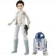 Hasbro Figuras Princesa Leia y R2-D2 - Star Wars: Forces of Destiny