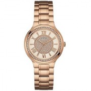 GUESS Rose Gold Other Round Dial Analog Watch For Women (W0637L3)