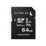 Angelbird V90 SDXC-Kort 64 GB Class 10, UHS-II, UHS-Class 3, v90 Video Speed Class Set om 2
