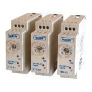 Releu de timp cu temporizare la actionare TIR-02 230V AC/24V AC/DC, 0,1-3min, 5A/250V AC
