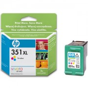 HP 351XL ( CB338EE ) Tri-colour Inkjet Print Cartridge with Vivera Inks