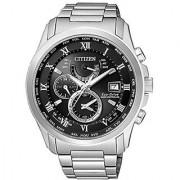 Citizen Analog Black Dial Unisex Watch-AT9080-57E